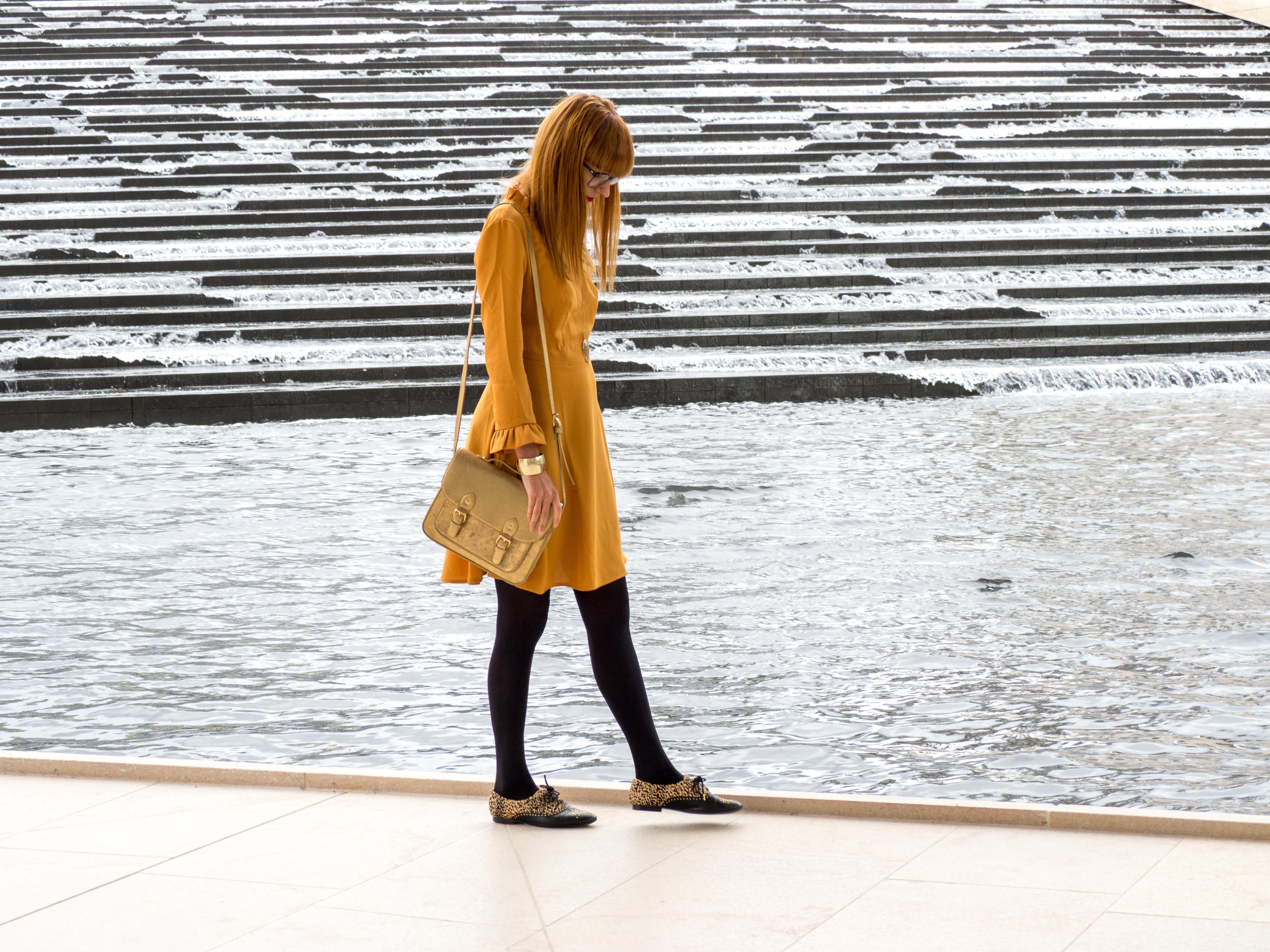 Alyson - Robe jaune