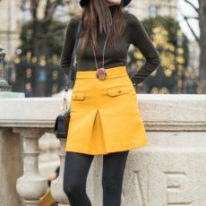 La jupe jaune
