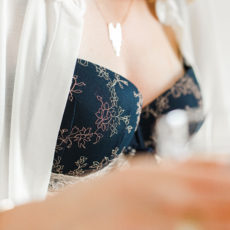 L'ensemble bleu nuit Marie Jo avec Glamuse